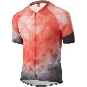 Löffler Aero Full-Zip Bike Jersey Men, rood